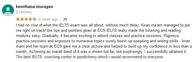 IELTS Writing Preparation