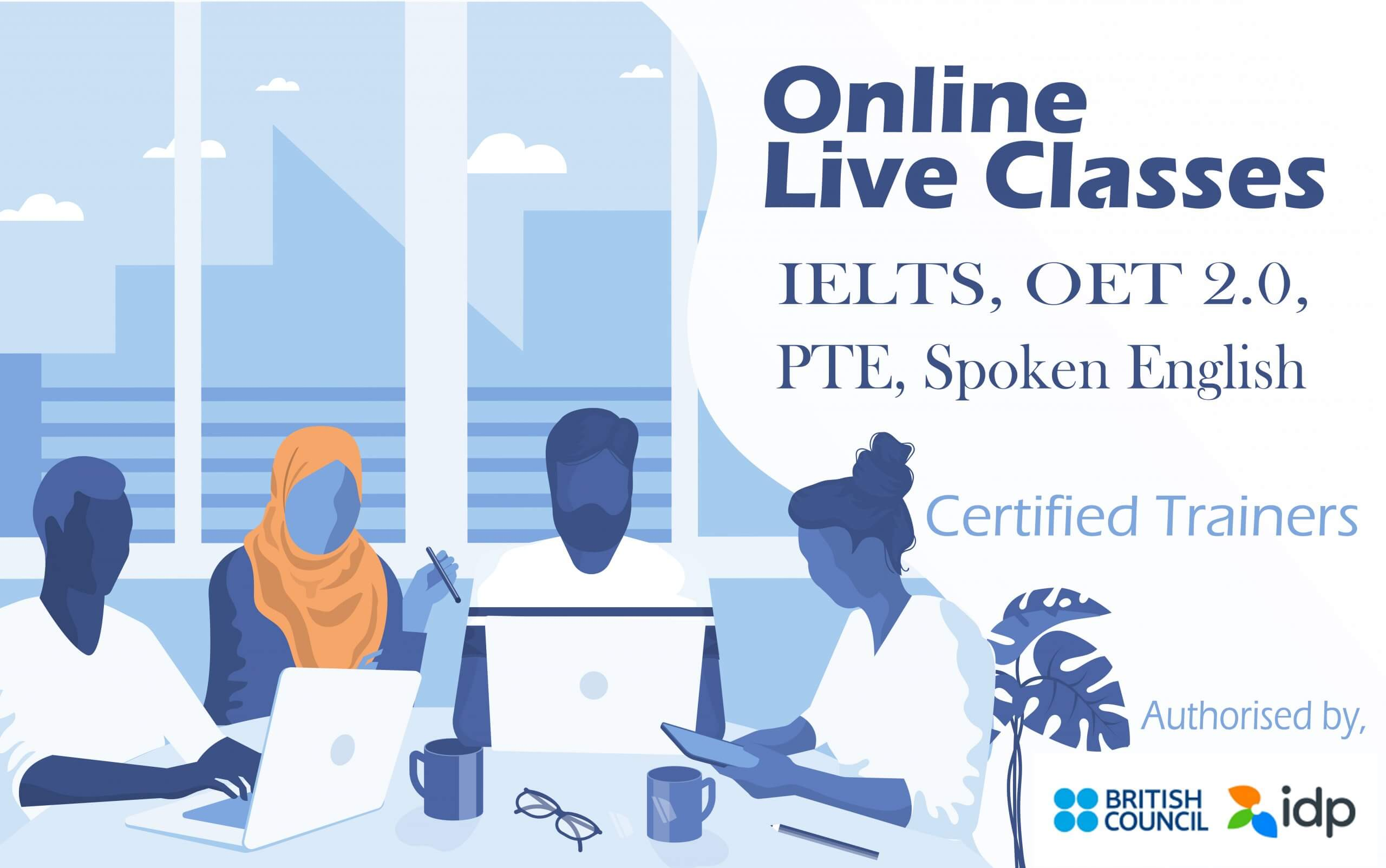 IELTS Online Coching Training - Home - 1